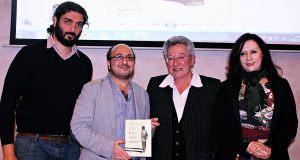 Fouad Roueiha, Muhammad Dibo, Fernanda Antonini e Federica Pistono